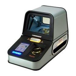 We use a Thermo Scientific™ Niton™ DXL Precious Metal Analyzer